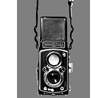 Classic Retro Rolleiflex Twin Lens Reflex Film Camera Photographic Print