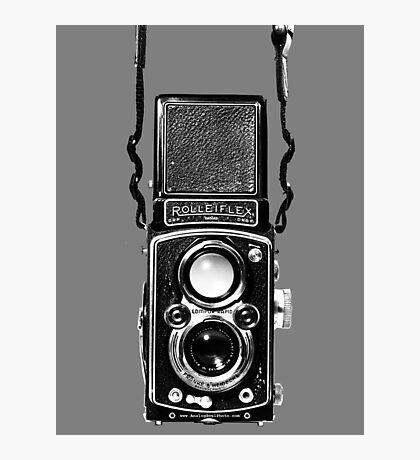 Classic Retro Rolleiflex Twin Lens Reflex Film Camera Photographic Print