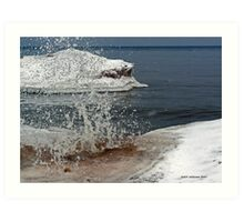 Lake Ontario Ice 3 Art Print