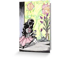 ♦ Tea for One ♦ Greeting Card