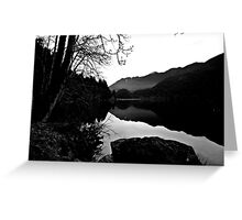 Lake Crescent, Washington State Greeting Card