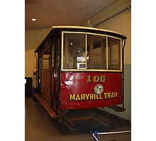 Mary Hill Tram Photographic Print