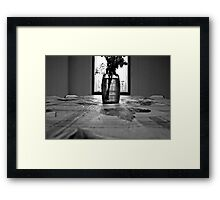 Decoration for Fellowship Hall Framed Print