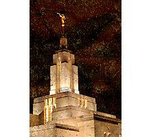 LDS Draper Temple Photographic Print