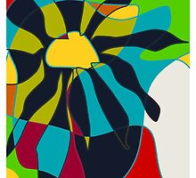 Tropical, summer abstract by ackelly4
