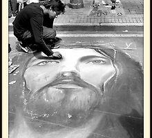 Pavement Artist by danielgomez