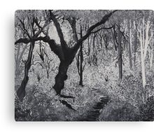Monochrome Path 1 Canvas Print