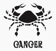 Cancer Zodiac Sign Kids Clothes