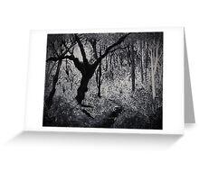 Monochrome Path 2 Greeting Card