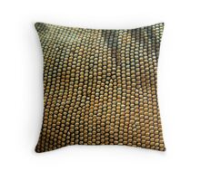 Iguana Beads Throw Pillow