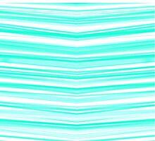 Aqua Candy Cane by atlasartsn