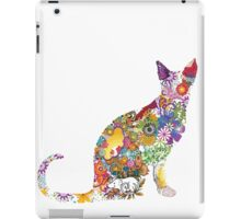 Colourful Kitty iPad Case/Skin