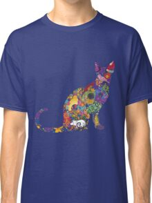 Colourful Kitty Classic T-Shirt