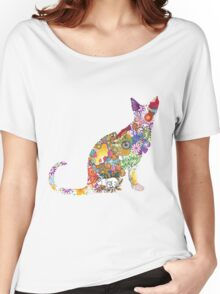 Colourful Kitty Women's Relaxed Fit T-Shirt