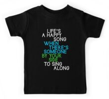 Life's a Happy Song Kids Tee
