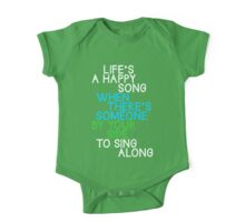 Life's a Happy Song One Piece - Short Sleeve