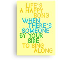 Life's a Happy Song Metal Print