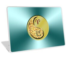 Aries & Snake Yin Metal Laptop Skin