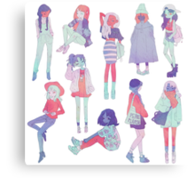 ♀♀♀ Canvas Print
