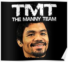 Mayweather Vs Pacquiao Fight The Manny Team TMT Shirt Poster