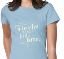 Miracles Womens Fitted T-Shirt