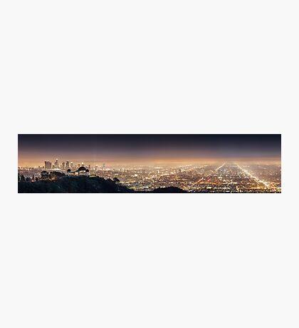 Los Angeles Panorama Photographic Print