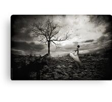 Dancing In The Dark Canvas Print