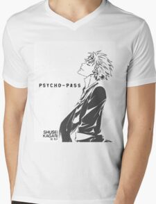 Psycho-Pass Kagari Mens V-Neck T-Shirt