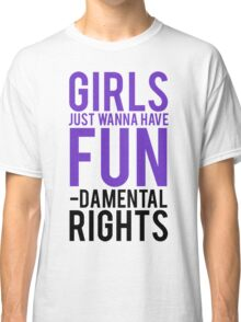 Girls Fundamental Rights Classic T-Shirt
