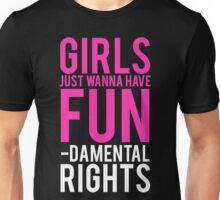 Girls Fundamental Rights Unisex T-Shirt