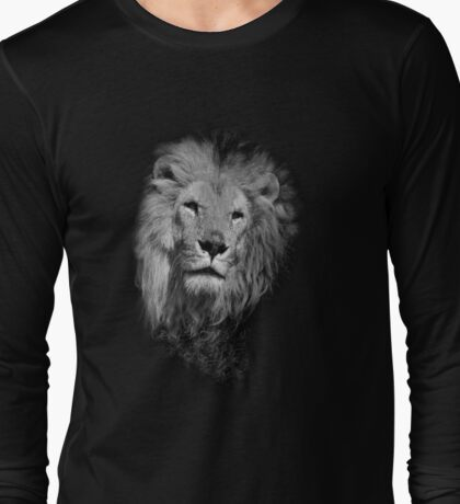 Leo Grey Long Sleeve T-Shirt