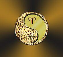 Aries & Horse Yang Metal  by astrodesigner75