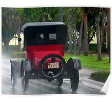 Drivin' in the rain Poster