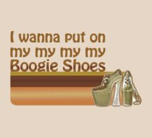 Boogie Shoes Disco Shirt by loislame