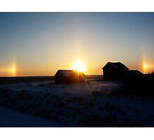 Sundog Sunset Photographic Print