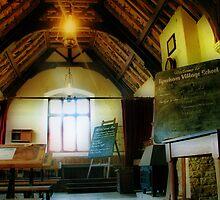 Tyneham Village School by A90Six