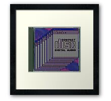 Compact Disk Jewel Case Framed Print