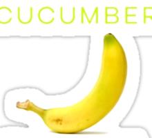Cucumber, Banana, Tofu Titles Sticker