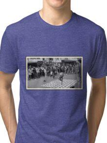 Break Dance  -  Bogota - Colombia Tri-blend T-Shirt
