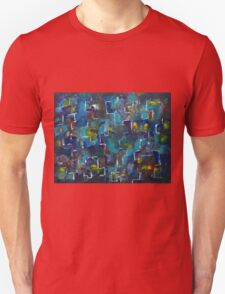 Abstract Journey by Manjiri Kanvinde T-Shirt