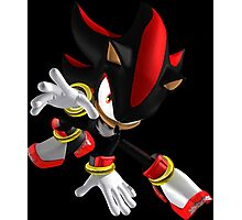 Shadow... the Hedgehog Photographic Print