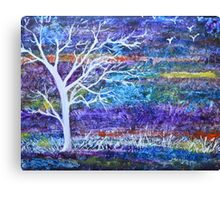 Abstract Landscape tree Canvas Print