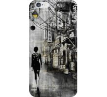 china town walk iPhone Case/Skin