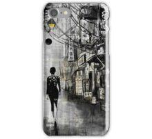 china town walk iPhone Case/Skin
