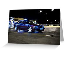 1995 328i Greeting Card