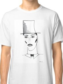 Abstract sketch of face II Classic T-Shirt