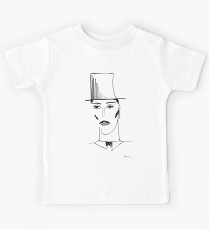 Abstract sketch of face II Kids Tee