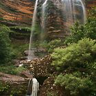 Wentworth Falls .. with rocks by Michael Matthews