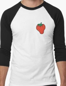 Superfruit Strawberry Men's Baseball ¾ T-Shirt