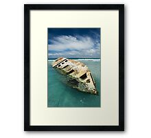 The Wreck1 Framed Print